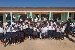 Inauguration école Lubumbashi